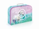 Dětský kufřík lamino 34 cm - Kůň Romantic