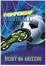 Desky na abecedu - Fotbal