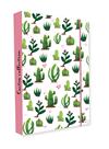 Desky na sešity s boxem A4 - Kaktus