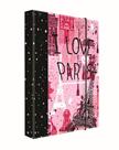 Desky na sešity s boxem A4 Jumbo - Romantic Nature Paris 2