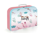 Dětský kufřík lamino 34 cm - Rainbow Butterfly / Motýl