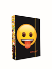 Desky na sešity s boxem A5 - Emoji