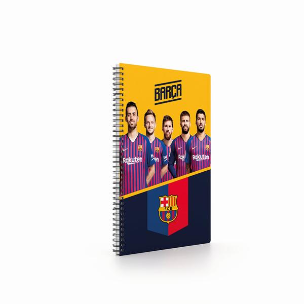 Kroužkový blok A4 - FC Barcelona 2019