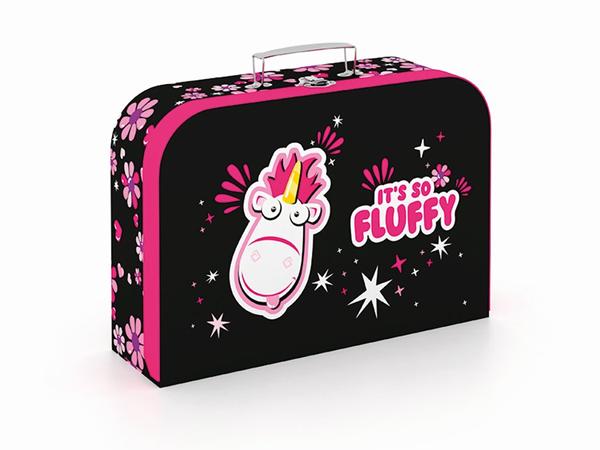 Dětský kufřík lamino 34 cm - Fluffy