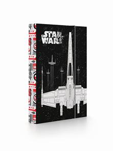 Desky na sešity s boxem A5 - Star Wars 2019