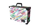Kufřík lamino hranatý okovaný - Stripes