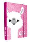 Desky na sešity s boxem A4 - Lama