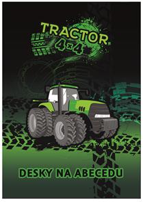 Desky na abecedu - Traktor