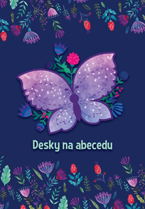 Desky na abecedu - Motýl 2020
