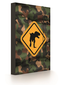 Desky na sešity s boxem A4 - T-Rex 2020