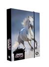 Desky na sešity s boxem A5 Jumbo - Kůň 2020/snow horse