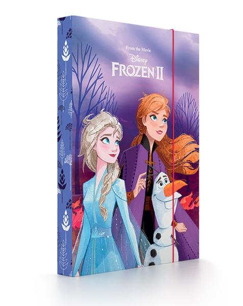 Desky na sešity s boxem A5 - Frozen 2/Ledové království 2