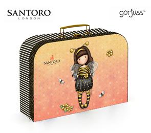 Dětský kufřík lamino 34 cm - Santoro Gorjuss 2020
