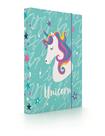 Desky na sešity s boxem A5 - Unicorn iconic