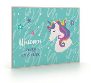 Desky na číslice - Unicorn iconic