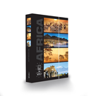 Desky na sešity s boxem A4 Jumbo LET´S TRAVEL - Afrika