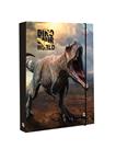 Desky na sešity s boxem A4 - Dino
