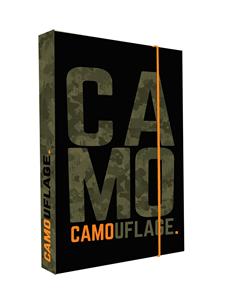 Desky na sešity s boxem A4 Jumbo - Camo 2020