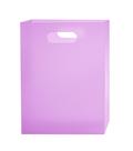 Box na sešity A4 PP s uchem - růžovofialový
