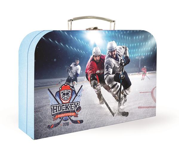 Dětský kufřík lamino 34 cm - Hokej