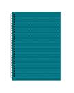 Kroužkový blok A6 Soft - Mentol zigzag