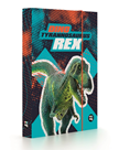 Desky na sešity s boxem A5 Jumbo - Dino Tyrannosaurus Rex