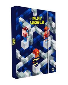 Desky na sešity s boxem A5 - Playworld