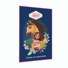 Desky na abecedu - Spirit Riding Free