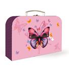 Dětský kufřík lamino 34 cm - Motýl / Butterflies 2021