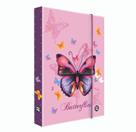 Desky na sešity s boxem A4 Jumbo - Motýl / Butterflies 2021