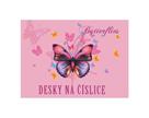 Desky na číslice - Motýl / Butterflies 2021