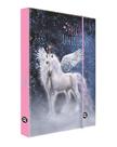 Desky na sešity s boxem A4 - Hello unicorns