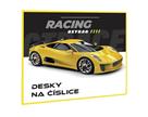 Desky na číslice - Racing / Auto 2021