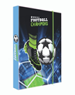 Desky na sešity s boxem A4 - Fotbal 2021