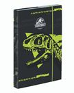 Desky na sešity s boxem A4 - Jurassic World/Jurský svět 2021