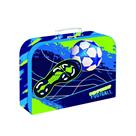 Dětský kufřík lamino 34 cm OXY STYLE MINI - Football blue