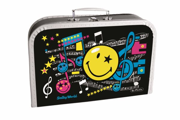 Dětský kufřík 35 cm - Smiley World