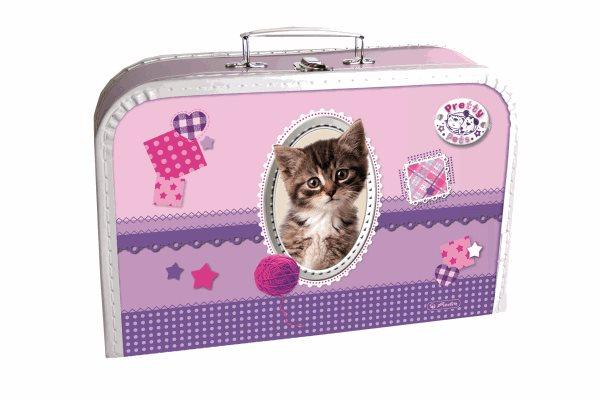 Dětský kufřík 35 cm - Pretty Pets - Kočka