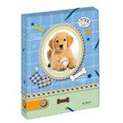 Herlitz Box na sešity A4 4 cm, PP Pretty Pets Pes