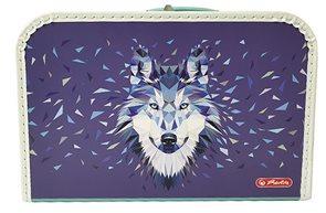 Herlitz Dětský kufřík 35 cm - Wild Animal Vlk