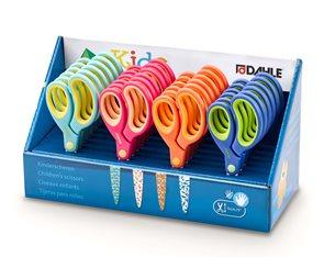 DAHLE Dětské nůžky s kulatou špičkou 13 cm - mix barev