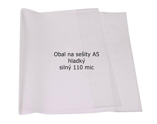 CONCORDE Obal na sešity A5 110 mic - sada 10ks, čiré
