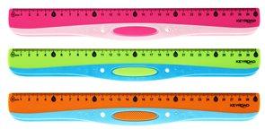 KEYROAD Pravítko Easy liner 30 cm - mix barev