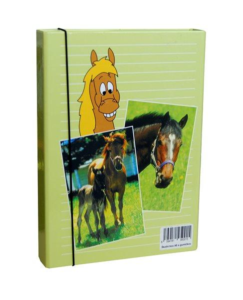 Box na sešity A5 - Koně