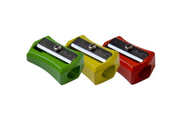 Ořezávátko Robot jednoduché celokovové - mix barev
