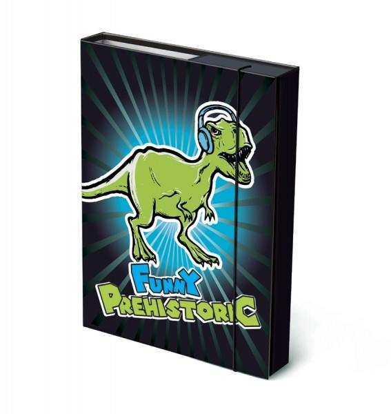 Box na sešity A4 - Prehistoric Funny