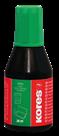 Kores Razítková barva 28 ml - zelená