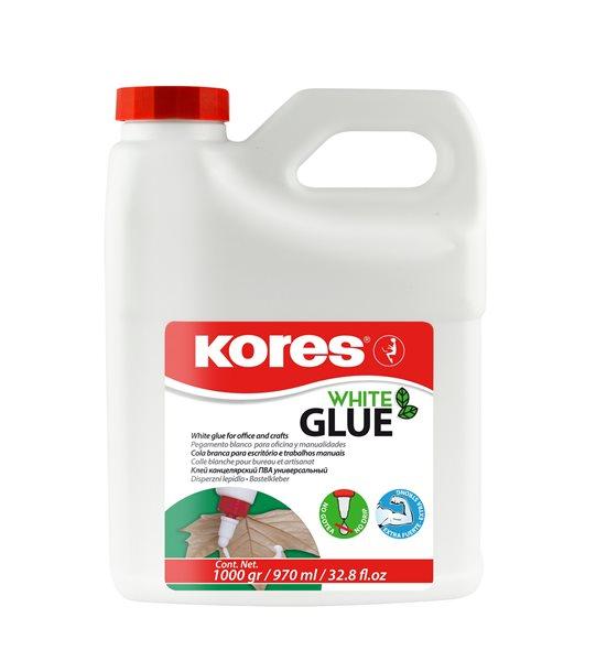 Kores White glue Tekuté lepidlo 1000 g