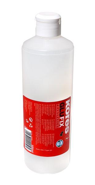 Kores Glufix 500 ml, tekuté transparentní lepidlo