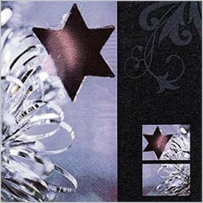 Stil Ubrousky 33 x 33 - Fialová hvězda